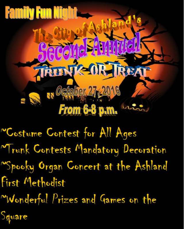 Ashland Trunk & Treat @ Ashland Square | Ashland | Alabama | United States