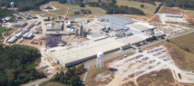 aerial view of wellborn cabinet factory in ashland alabama