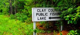 Clay County Public Fishing Lakes